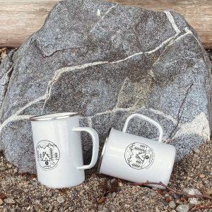 2 Camping Mugs